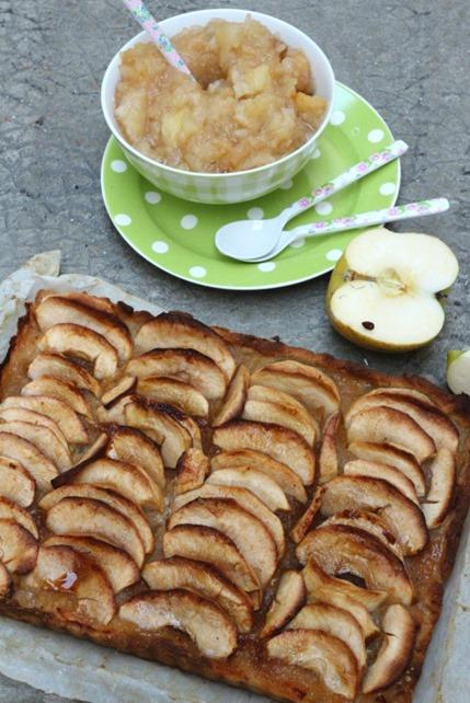 Tarte aux pommes vegan sans gluten