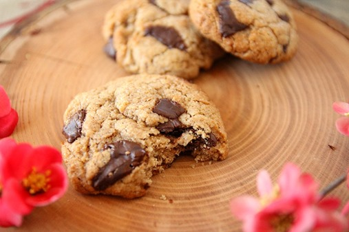 Cookies chocolat noisette vegan